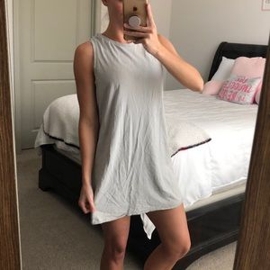Forever 21 grey sleeveless dress